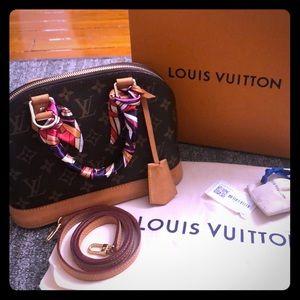 Authentic Louis Vuitton Alma bb
